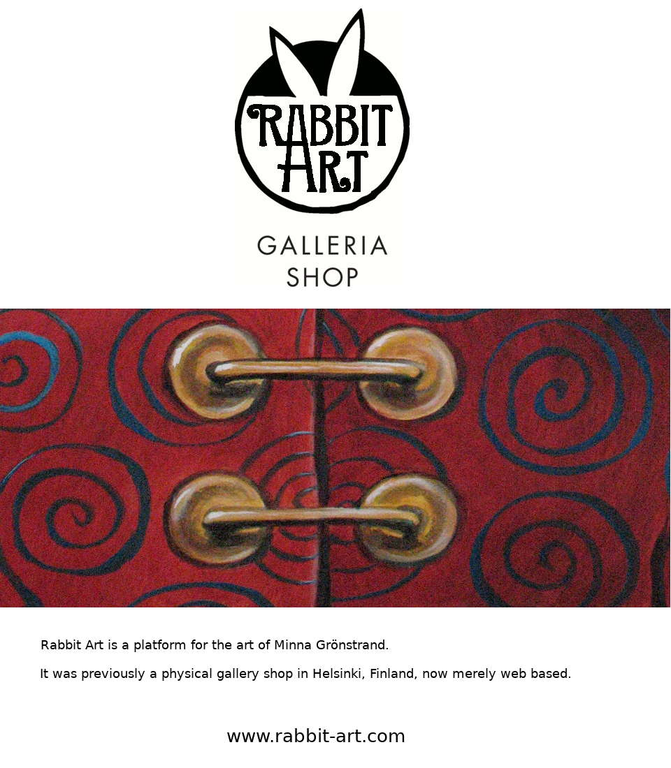 ENTER THE RABBIT ART SHOP